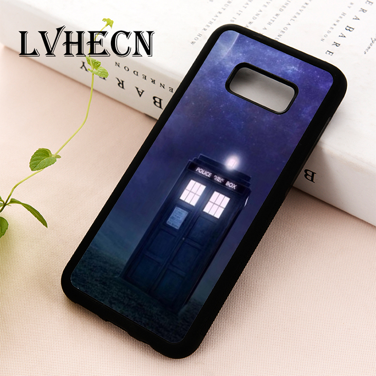 Liberal Lvhecn Tpu Skin Phone Case Cover For Samsung S5 S6 S7 S8 S9 S10 Edge Plus S10e Lite Note 5 8 9 The Tardis Police Box Doctor Who Cellphones & Telecommunications