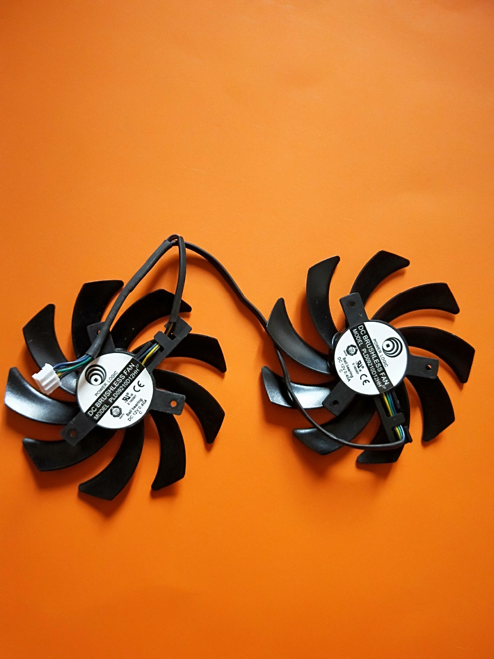 4-Pin 85mm Dual-X <font><b>Fan</b></font> For Video Card <font><b>Fan</b></font> <font><b>R9</b></font> 280X 280 <font><b>270X</b></font> PLD09210D12HH 12V image