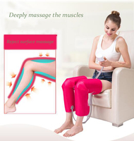 Air pressure leg massager crus knead knead domestic electric heat wave of hot compress of knee joint massager J2203