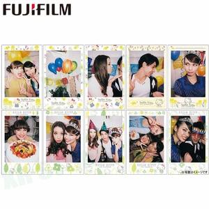 Image 2 - Fujifilm Instax Mini 11 8 9 Film Hello Kitty Geschilderd Fuji Instant Foto Papier 10 Vellen Voor 70 7S 50S 50i 90 Delen SP 1 2 Camera