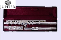 Taiwan Jupiter Flute JFL 511ES 16 over C Tune musical instrument Flute E Key Flute music professional Free shipping