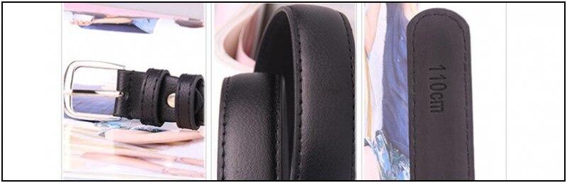 Модные женские туфли Ремни из искусственной кожи металлической пряжкой пояс для женщин пояс