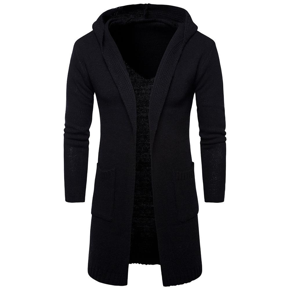 Sweater Cardigan Male Solid Cotton Smart Casual Fashion New Autumn Slim Keep Warm Homme Cardigan Men Modish Sweater MOOWNUC MWC