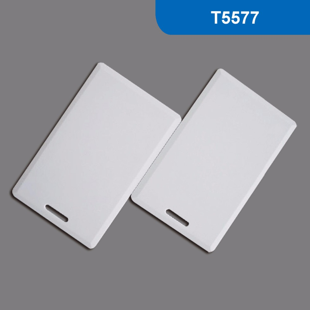 RFID Clamshell Card, RFID proximity Smart Card for access control and Hotel Lock125KHZ 330 BITS R/W with T5577 Chip