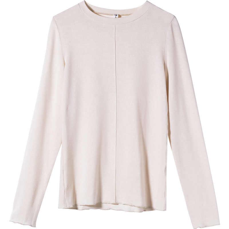 Jerseys de mujer Mishow 2018 Otoño Invierno suéter tejido Casual Jersey moda ajustado cuello alto caliente suéteres femeninos MX18C5187
