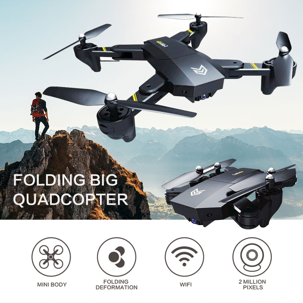 S25 Headless Mode Quadcopter 2.4GHz 4 Axis gyro 0.3MP 480P HD WIFI camera fixed high folding FPV Drone Aircraft Helicopter jjr c jjrc h43wh h43 selfie elfie wifi fpv with hd camera altitude hold headless mode foldable arm rc quadcopter drone h37 mini
