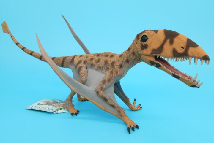 CollectA Dimorphodon With Movable Jaw Dinosaurs Model Dino Classic Toys For Children Boys Gift smilodon tiger lion polar bear cheetah eagle classic toys for boys ferocious beast movable animal small size without box