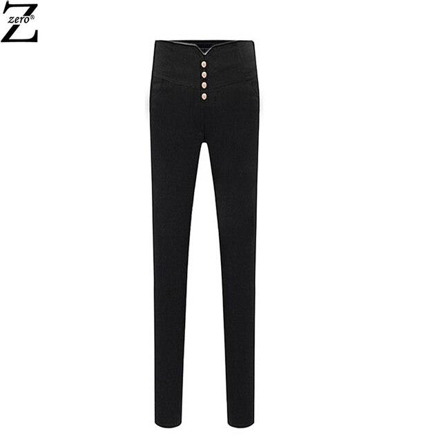 High waist  jeans for Women 2015 Brand jeans fashion slim skinny Pencil pants winter Plus thick velvet women Denim DXH-428-1802