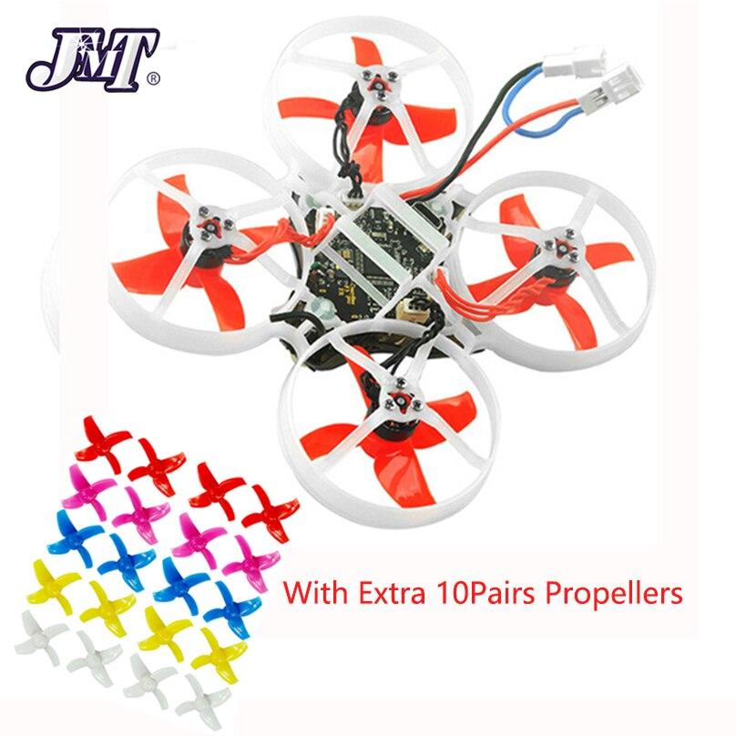 JMT Happymodel Mobula 7 75mm Bwhoop Crazybee F4 Pro FPV OSD 2 S Corrida Zangão Quadcopter Atualize BB2 ESC 700TVL BNF 10 Pares Prop