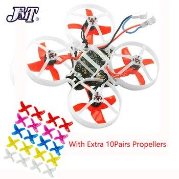 JMT Happymodel Mobula 7 75mm Grito Crazybee F3 Pro FPV OSD 2 s Corrida Zangão Quadcopter w/Atualização ESC BB2 700TVL BNF 10 Pares Prop
