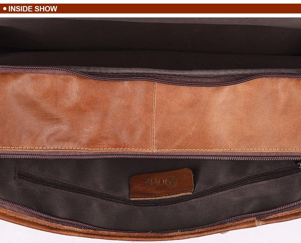 HTB1hlKhkMnH8KJjSspcq6z3QFXaR JOYIR Genuine Leather Men Briefcases Laptop Casual Business Tote Bags Shoulder Crossbody Bag Men's Handbags Large Travel Bag