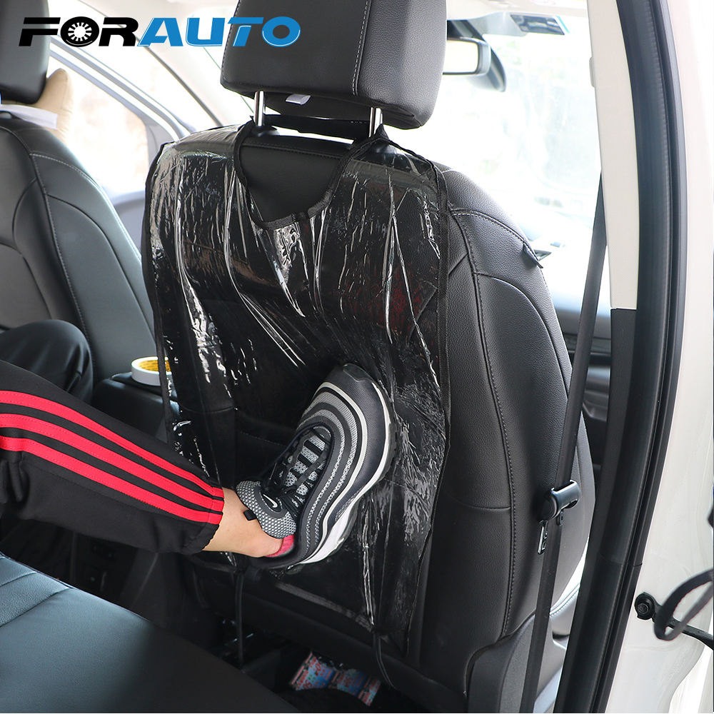 Car Anti Kick Pad Anti Child Kick Mount Car Styling Car Seat Back Dust Protector Seat Back Covers Auto Accessoires
