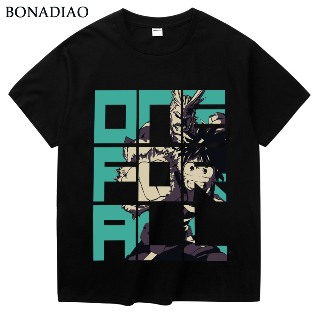 My Hero Academia All Might Midoriya Izuku   T     Shirt   For Man Big Size Leisure Boku no Hero Anime   T  -  shirt