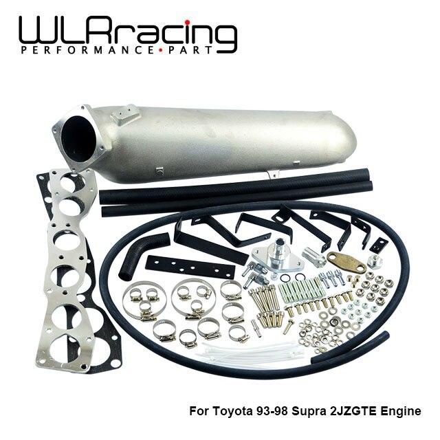 WLR гоночный-литой алюминиевый впускной коллектор для 93-98 Супра 2 JZGTE для Toyota 2JZ впускной коллектор высокого качества новый бренд