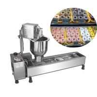 Good quality stainless steel doughnut maker mini sweet donut making machine for sale