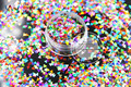 TA3-310 Mezclar Colores Triángulo Forma Holográfica Láser Cequis Del Brillo para el arte del clavo DIY decoración y adornos navideños
