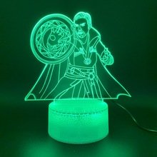 Led Night Light Marvel Superhero Doctor Strange Figure 3d Lamp Home Decor Holiday Gift for Kid Boy Child Novelty