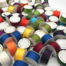 20 метров, 2 мм, натуральный шелк, тканые двухсторонние тафты, шелковые ленты для вышивки и рукоделия, подарочная упаковка