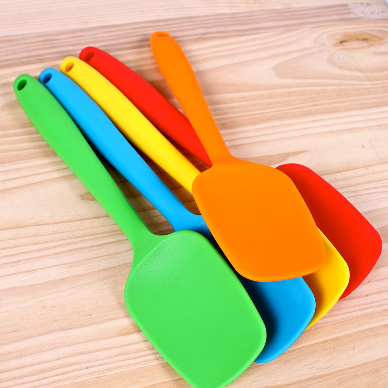 1/pc Large Silicone spoon scraper  Cooking Baking Tools cake Decorating Tools / Free shipping
