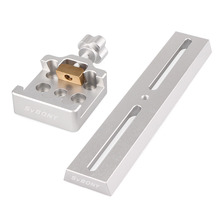 Promo offer SVBONY 210mm Dovetail Mounting Plate+Middle Size Dovetail Clamp for Astronomy Telescope Monocular F9144