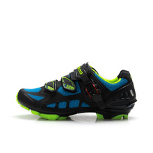TIEBAO M1502 MTB Outdoor Cycling Shoes,Breathable Bike Shoes, Compatible With SPD System Bicycle Shoes