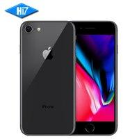 Новый Apple iphone 8 4.7 дюймов 64 ГБ Встроенная память 2 ГБ Оперативная память гекса core 12MP 1821 мАч IOS LTE отпечатков пальцев мобильный телефон Iphone 8