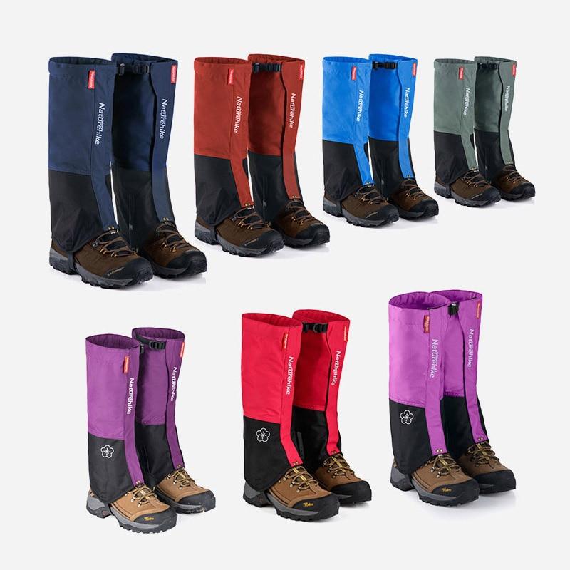Prix pour Naturehike Étanche neige couvre haute extérieure meadows ski chaussettes chaussures couvre bottes résistant à l'eau hommes femmes guêtres noir