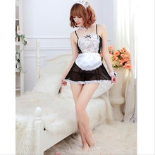 Women Lace Appeal Delight Interest French Maid