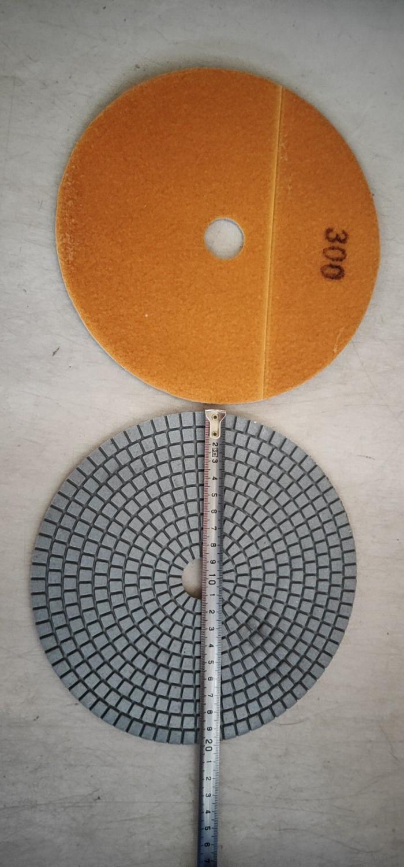ダイヤモンド湿式研磨パッド 8 インチ (200 ミリメートル) 大理石の花崗岩石樹脂研磨パッドサークル研磨ホイール 8 ピース/ロット  グループ上の ツール からの 研磨工具 の中 1