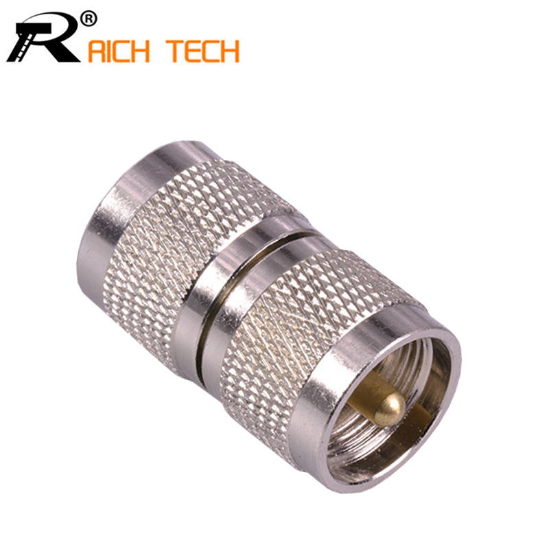 1PC High Quality UHF PL259 Male To UHF PL-259 Male Plug RF Coaxial Adapter Electronic Wire Connector