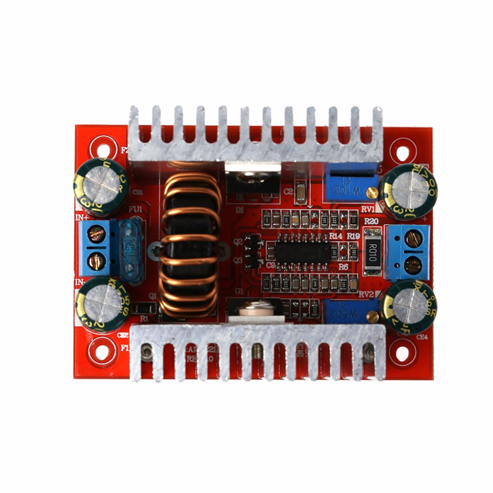 400W DC-DC Step-up Boost Converter Constant Current Power Supply Module Integrated Circuits