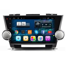 For Toyota Kluger 2007~2013 10.1″ Car Android HD Touch Screen GPS NAVI CD DVD Radio TV Andriod System