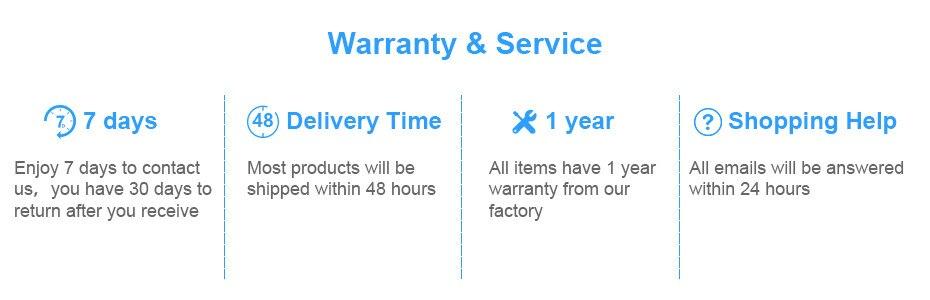 Warranty-&Service