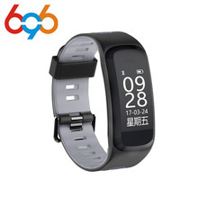 font b 2018 b font Waterproof F4 Smart Band Swimming Wristband With Pedometer Heart Rate
