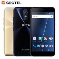 Original GEOTEL Nota Teléfono Móvil 5.5 pulgadas HD 3 GB RAM 16 GB ROM MTK6737 Quad Core 13MP Dual SIM 3200 mAh 4G FDD-LTE Smartphone