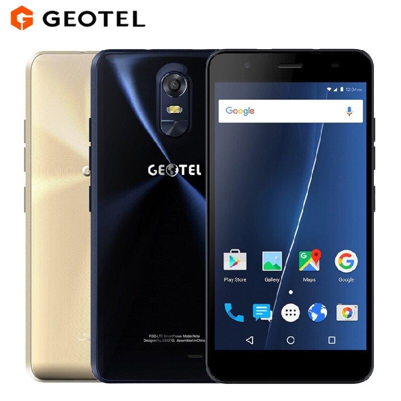 Original GEOTEL Note Mobile Phone 5 5 inch HD 3GB RAM 16GB ROM MTK6737 Quad Core