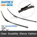 "Wiper blades for Mercedes-Benz Sprinter W906 ( from 2006 onwards ) 26""+24"" fit pinch tab type wiper arms only HY-017"