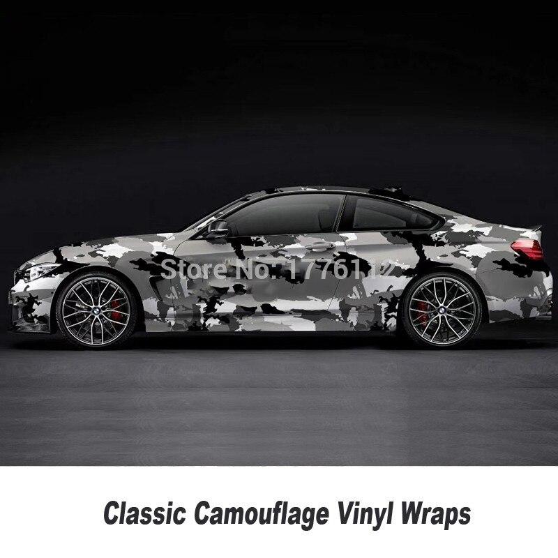 Camouflage Vinyle Wrap Film Auto Autocollant Vinyles Film Camouflage Enveloppe De Voiture pour Voiture Emballage mat brillant Différents types toute taille - 2