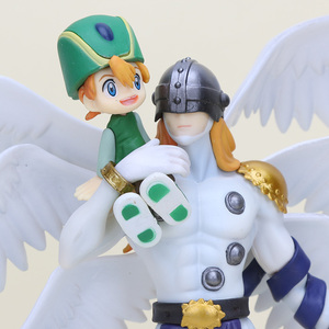Image 4 - Digimon Adventure Figur Takaishi Takeru & Angemon Angewomon & Yagami Wizarmon PVC Action Figur Digimon Colle Modell Spielzeug