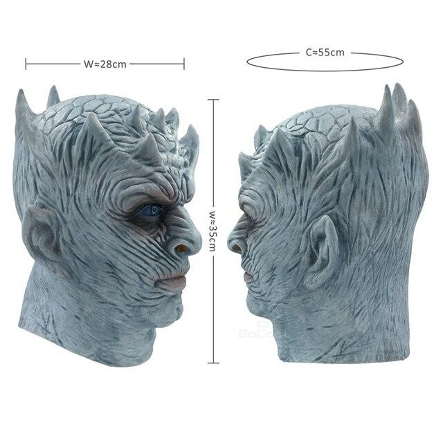 Night King Walker Face Latex Mask 5