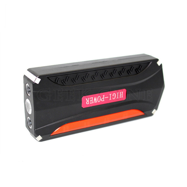 Free Shipping big capacity Portable Petrol & Diesel Car Jump Starter Charger Mobile Phone Laptop Power Bank Mobile LED