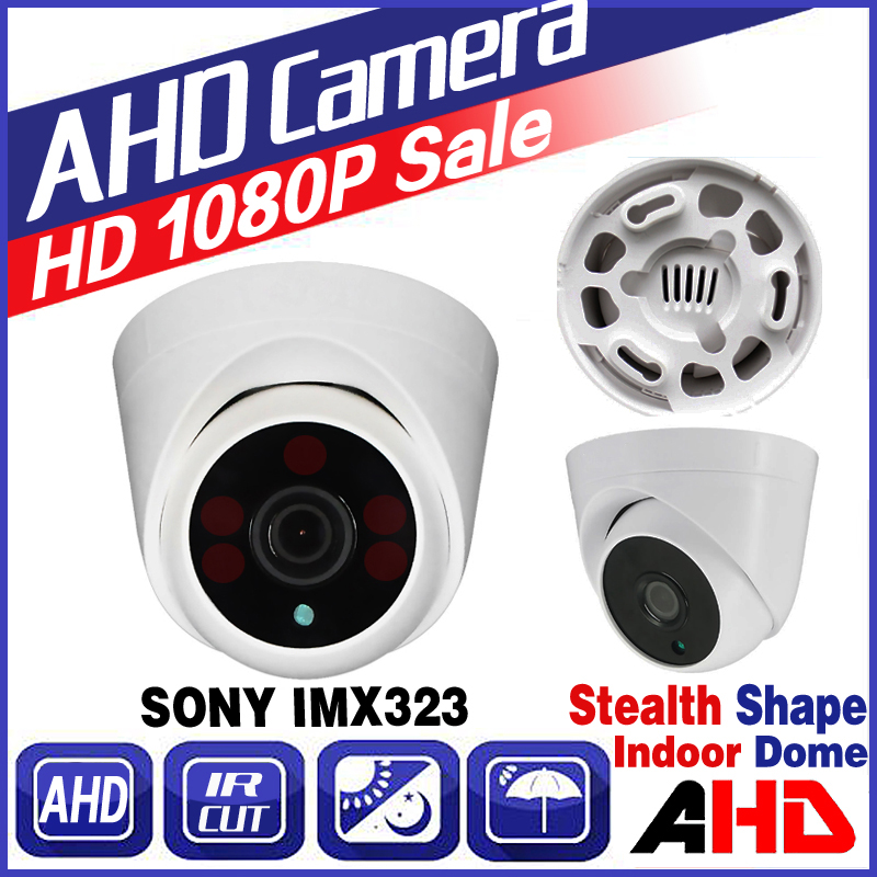 11.11big Sale!AHD 720P 960P 1080P Indoor Dome HD Mini Camera IRCut Security Surveillance Night Vision 30m Home Video vidicon cctv surveillance ahd security 1080p 2 0mp hd dome camera system night vision 3 6mm lens cctv camera 24leds ircut for ahd dvr