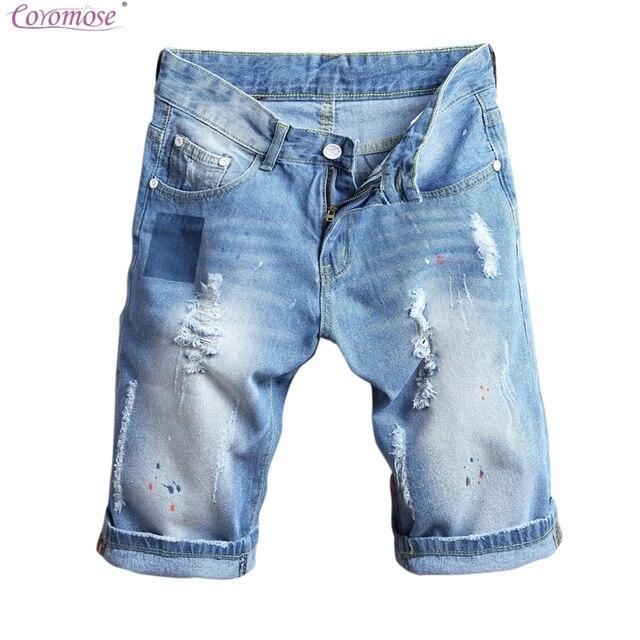 b4cbc29f15123 Coromose Corredores Deportivos Pantalones Cortos Ocasionales de Los Hombres  de Moda Masculina de Verano Spliced Pocket