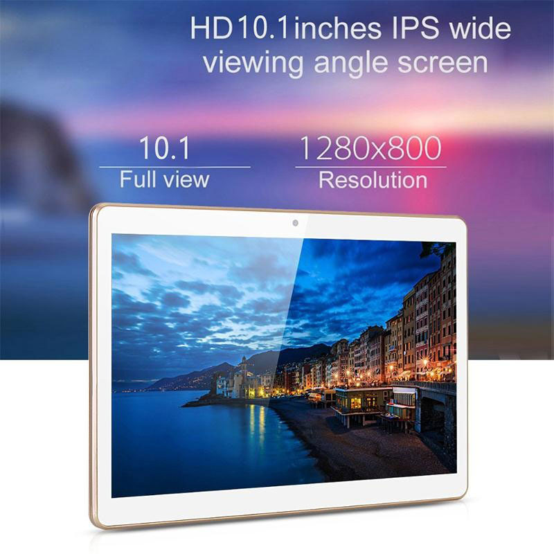 KT107 10.1 Inch Tablet PC Android 5.1 IPS Octa Core RAM 2GB ROM 32GB WIFI OTG Dual SIM Dual Cam Smart tablets phone EU Plug teclast p98 9 7 ips octa core android 4 4 3g tablet pc w 2gb ram 16gb rom dual cam tf gold