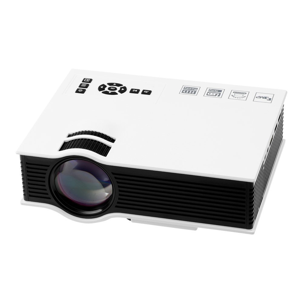 Mini 1080p Full Hd Led Projector Home Theater Cinema 3d: Original UNIC UC40+ Mini Projector 3D Mini Pico LED