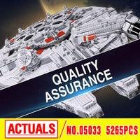 Star Wars 05007 Millennium Falcon Figure Toys Building Blocks Marvel Minifigures Kids Toy 10467 Compatible With