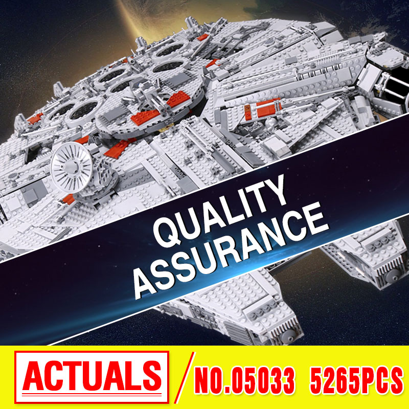 LEPIN 05033 5265pcs Star Ultimate Collector's Model Building Kits Blocks Bricks Children Toys birthday christmas Gift 10179 wars банный комплект softline 05033
