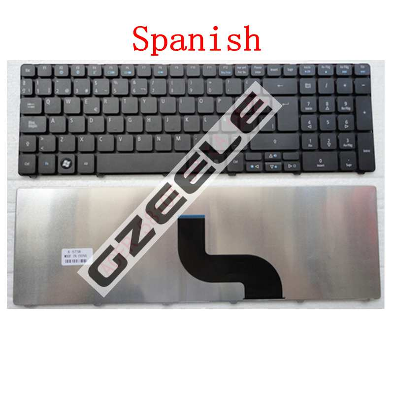 Spanish Keyboard FOR ACER eMachine E440 E640 E640G E642 E642G G460 G460G E730G E730Z E730ZG e732g e732z g443 SP laptop keyboard