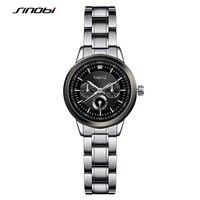 SINOBI Women S Fashion Steel Watches Womens Females Antique Geneva Quartz Watch Ladies Wristwatch Relojes Mujer