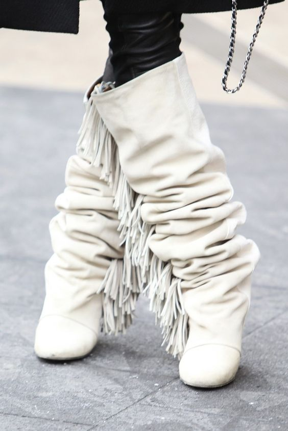 Compare Prices on White Leather Fringe Boots- Online Shopping/Buy ...